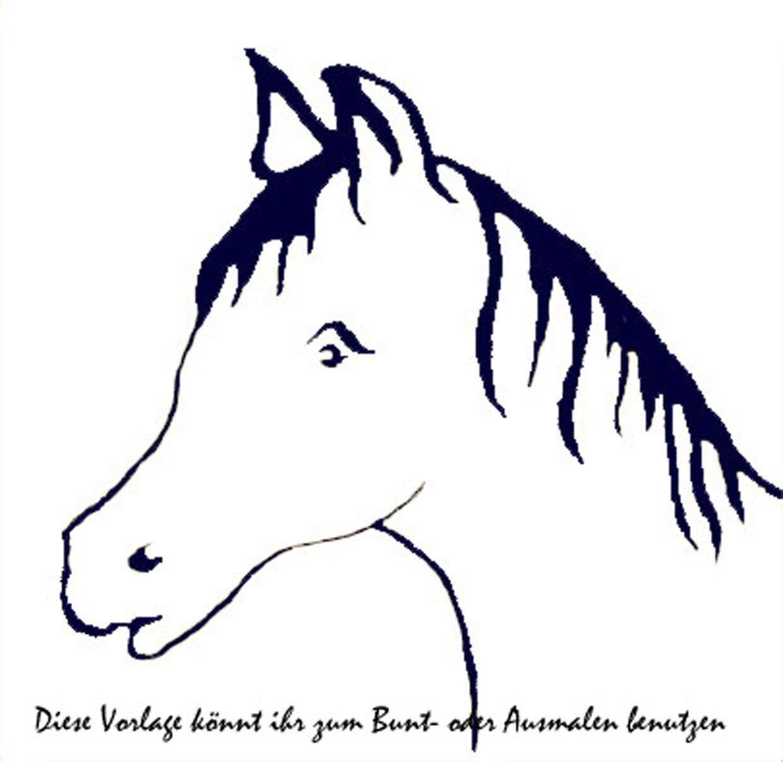 Ungewöhnlich Malvorlagen Pferdekopf Zeitgenössisch - Beispiel ...